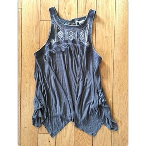 American Eagle Large Women's Embroidered Tank